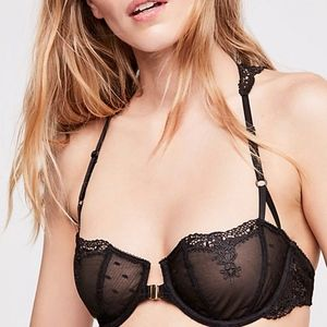 Free People Fancy Back Underwire Bra